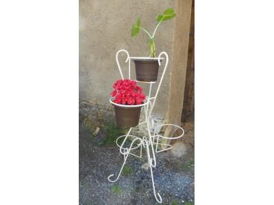 Bytový stojan na květiny-světlý