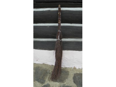 Koště chalupářské březové 110cm.