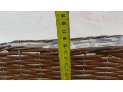 Truhlík proutěný 47x17 cm