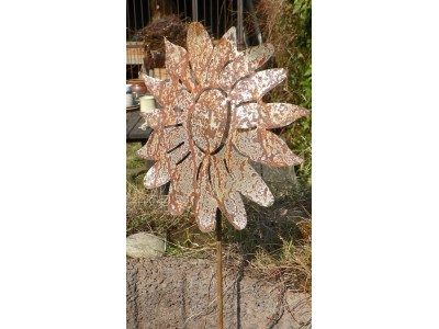 Zápich slunečnice velká.prům. cca 30 cm.
