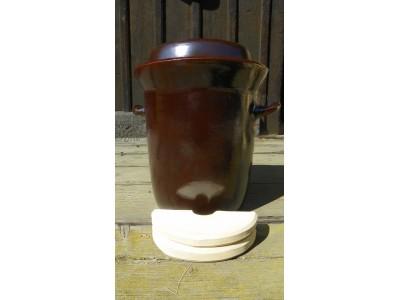 Sud na zelí keramický 5 litrů
