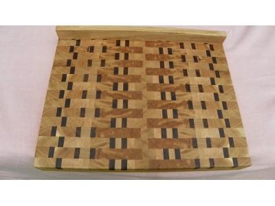 Vál na stůl z masivního dřeva.42x33x3cm