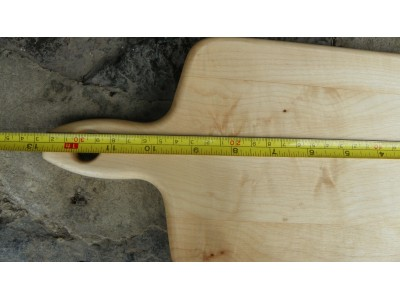 Prkénko s ručko 33x18 cm