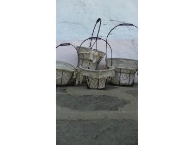 Koš drátěný kulatý prům 27 cm.