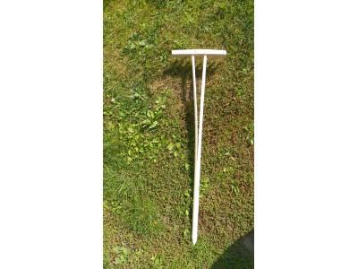 Hrábě dřevěné dětské 95x27 cm