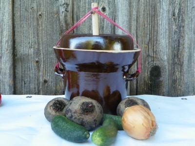 Hrnec na kvašenou zeleninu Pickles 2 litry