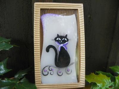 Svíčka kočka.