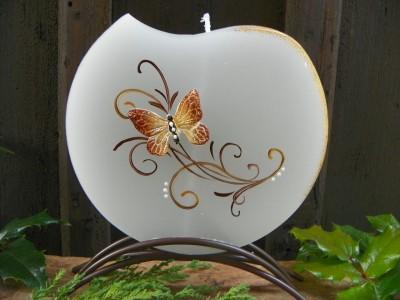 Motýl zlatý-svíce kulatá.